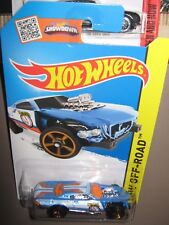 Hot wheels Project Speeder blue  112/250 mint boxed 2013 HW off road