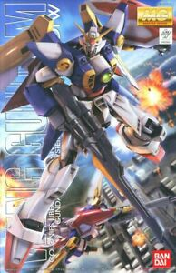 MG 1/100 Wing Gundam TV Version Master Grade Bandai Model Kit Free Shipping
