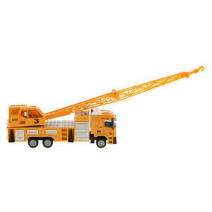 1:64 Scale Diecast Crane Lifter Truck Model Vehicle Car Toy for Kids Gift