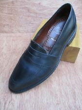 132bf0a8298 Allen Edmonds Westchester black leather made USA dress shoe penny loafers 8D