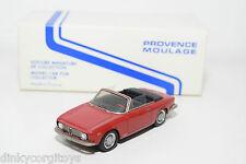 PM PROVENCE MOULAGE ALFA ROMEO GIULIA GTC RED NEAR MINT BOXED RARE