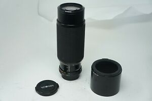 Minolta 100-300 f5.6 MD Zoom lens with constant aperture and macro feature