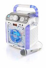 Karaoke-Anlage Singing Machine CD-Player Musik LED DJ Lautsprecher ohne Zubehör