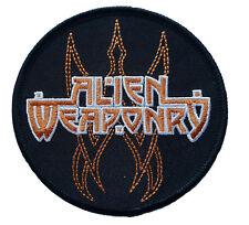 ALIEN WEAPONRY - logo Aufnäher Patch 9x9cm gestickt