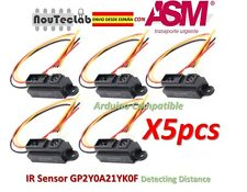 5pcs GP2Y0A21YK0F IR Sensor Measuring Detecting Distance Sensor 10 to 80cm