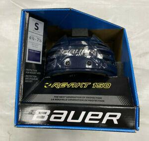 Bauer RE-AKT 150 Hockey Helmet Navy Blue Small **NEW IN BOX**