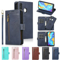 Detachable Wallet Leather Flip Case Cover For Huawei P30 Lite P40 Lite Mate 20
