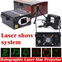 Showlaser Lasereffekt 100mW RGB LED DJ Party Disco Laser Show Licht Laserlicht