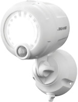 Mr. Beams Wireless Battery-Operated Outdoor Motion-Sensor-Activated LED Plastic,