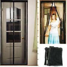 NEW Instant Mesh Screen Door Magnetic Bug Mosquito Fly Pet Patio Net Hands Free