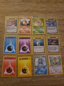 1st edition base set  pokemon cards lots in french !!