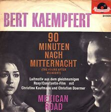 "7"" Bert Kaempfert – 90 Minuten nach Mitternacht / Filmmusik Theme / Germany 1962"
