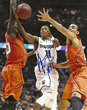 Keith Appling 'Michigan State Spartans' Signed 8X10 Picture *Coa 2