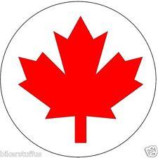 CANADA FLAG BUMPER STICKER, LAPTOP STICKER TOOLBOX STICKER, WINDOW STICKER