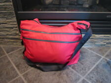 Lululemon ON THE GO GYM BAG TOTE TRAVEL IN PERSIMMON AND GREY