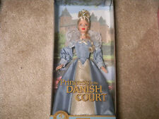 Princess of the Danish Court Barbie New in box