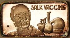 Salk Vaccine, America's Greatest Events, The Hamilton Mint, .999 Silver Ingot