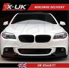"Front splitter / lip ""Matte Black finish"" for BMW 5 series F10 / F18 Msport"