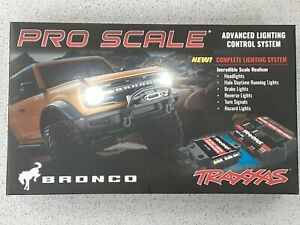 Traxxas TRA9290 Pro Scale Led Light Set Ford Bronco2021 Brand New!!