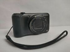 Read Details Sony Cyber-shot DSC-H90 16.1MP Digital Camera - Black w/ Battery