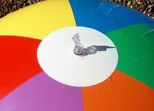 """48"""" UNBRANDED 7 Color Inflatable BEACH BALL Vintage OMS CLONE Same Factory"""