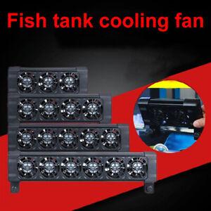 2/3/4/5/6 Head Cooler Aquarium Fish Tank Chillers Cooling Fan Adjustable Kits
