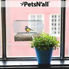 PetsN'all ✪ Bird Feeder Seed Outdoor Garden Birdfeeder Squirrel Proof Hr4904
