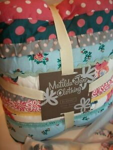NWT MATILDA JANE BABY QUILT Blanket ROCK a BYE Set Blu Red $100 RETIRED SOLD OUT