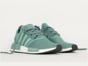 adidas NMD Green Athletic Shoes for