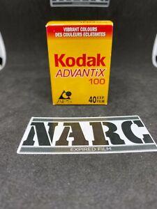 Kodak Advantix Ultra APS 100 40 exp expired film