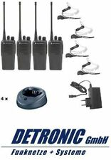 Motorola Handfunkgerät DP1400 VHF 136-174Mhz - Analog im Set (4 Stück)