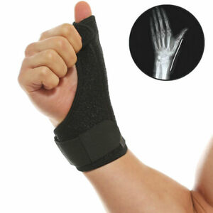 SC Wrist Thumb Hands Splint Support Brace with Removable Steel Splint (1PCS)- UK