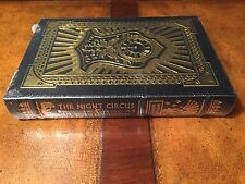 Easton Press ERIN MORGENSTERN: The Night Circus SIGNED/SEALED