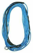 "50' x 3/16"" AmSteel-Blue Mainline Synthetic Winch Rope Line Thimble"