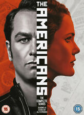 The Americans: The Complete Series DVD (2018) Keri Russell cert 15 23 discs