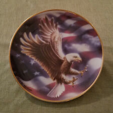 "Franklin Mint Heirloom Recommendation ""The American Eagle"" Collectors Plate"