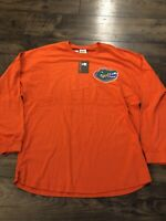 Nwt Men Pressbox Long Sleeve Florida Gators 100% Cotton Tshirt Large