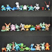 100pcs Pocket Monster PVC Figures Random Pokemon Model Toy Gift No Repeat 4-5CM