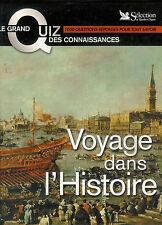 """Voyage dans l'Histoire """" Le grand Quiz des connaissances """" Reader's Digest """""""