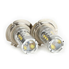 Lot2  H7 80W LED Fog DRL Driving Car Head Light Lamp Bulbs White Super Bright US