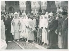 1939 Paris Muslims Celebrate New Year at Mosque Press Photo