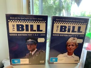 Box Set DVD's - The Bill Series 16 Parts 1,2,3 and 4