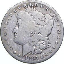 Early - 1883-S Morgan Silver Dollar - 90% US Coin *901