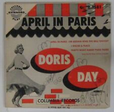 Doris Day 45 tours April in Paris