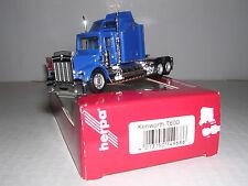"HERPA #149686  Kenworth T-600 10 Wheel Skirted Sleeper Cab ""Blue"" H.O.Gauge"