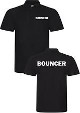 Bouncer POLO SHIRT WORKWEAR Event Security Bar Club Doorman Staff Guard TOP