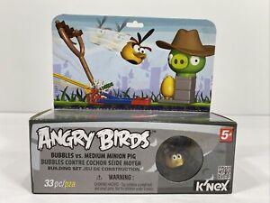 Angry Birds Building Set Bubbles Vs. Medium Minion Pig NIB.           C4