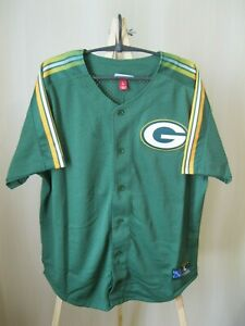 5+/5 Green Bay Packers Size L Mitchell & Ness american football shirt jersey