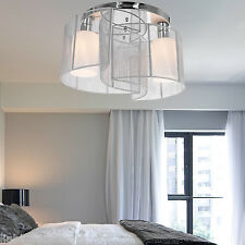 Contemporary Crystal Chandelier Ceiling Fixture2 Lamp Pendant Lighting NEW