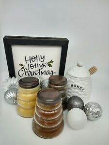 Keepers of the Light Cheerful Giver Baby Beehive Jar Candle